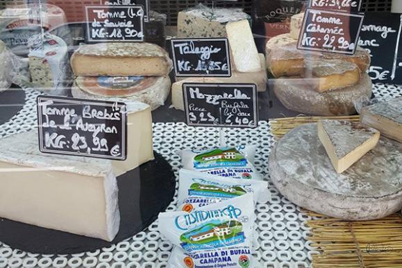 Large choix de fromages